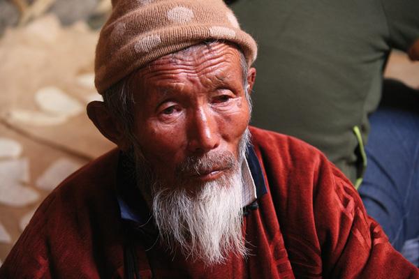 Mongoloide Menschen