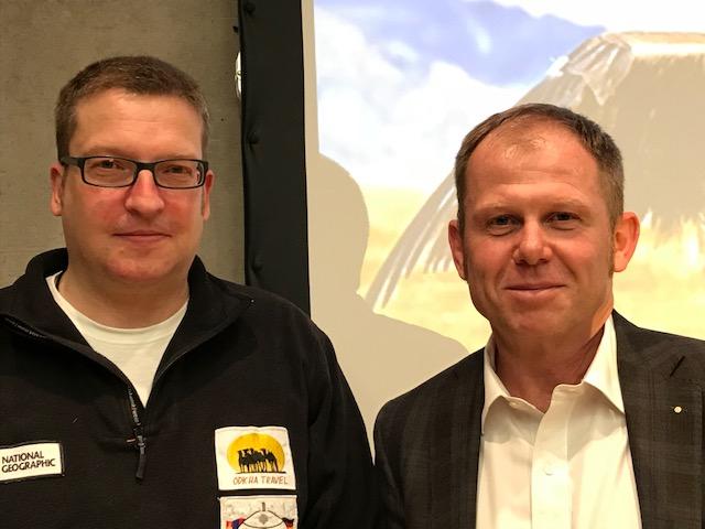 von links: Frank Riedinger, Guntmar Eisen